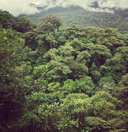 Volcanoe in Costa Rica