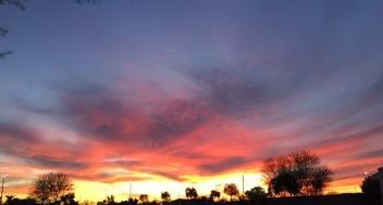 Fire in the skye
